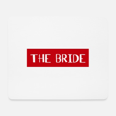 Bruiloftsreceptie The Bride - Wedding Shower Team Bride Crew - Muismat