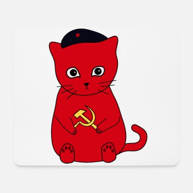 Cat Kittens for Communism! - Mouse Pad