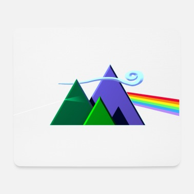 Prog Rock Dark Side Of The Mountains - Mousepad