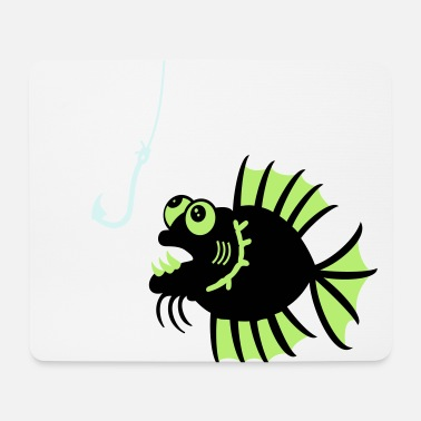 Shape Shark Funny Witziger Fisch / funny fish (2c) - Mouse Pad