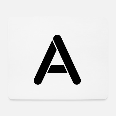 Lettering The letter A - Mouse Pad