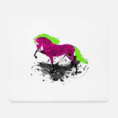 Equestrian Wheel HORSE ART, equestrian - Mouse Pad