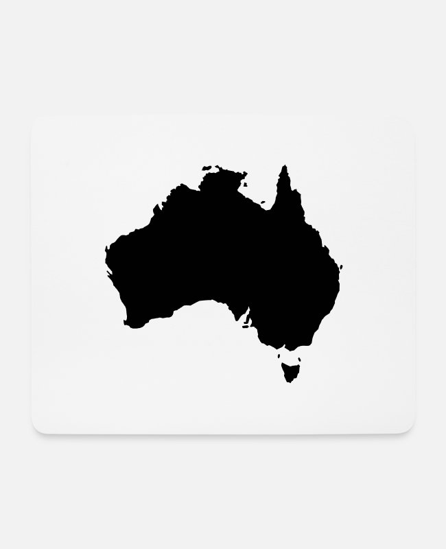 Travel Mouse Pads - Australia - Mouse Pad white