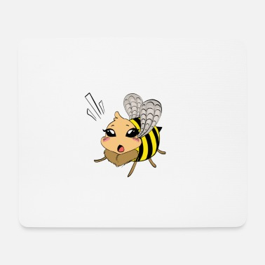 Childrens Book Bee from children's book - Mouse Pad