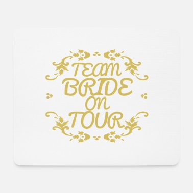 Team Bride Hen Party Gift Bruid - Muismat