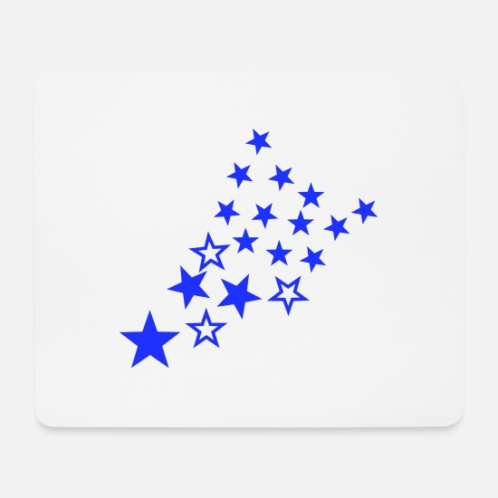 Stars And Stripes Mouse Pads - star - stars - Mouse Pad white