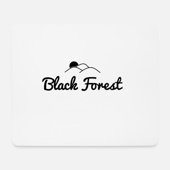 Gift Idea Mouse Pads - Black Forest Black Forest - Mouse Pad white