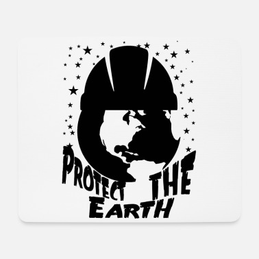 Protection Protect the earth climate protection - Mouse Pad