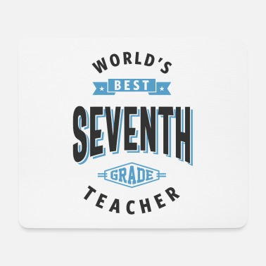 Back To School 7th Grade Teacher - Mouse Pad