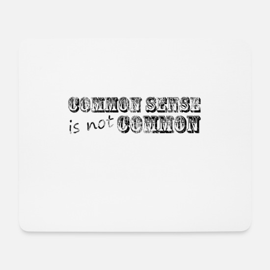 Cool Mouse Pads - Say Quote Quote Slogan - Mouse Pad white