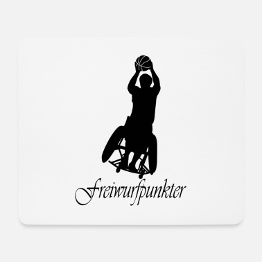 Free Throw Free throw Punkter - Mouse Pad