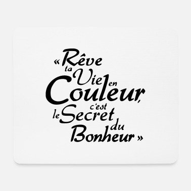 Citations bonheur citation - Tapis de souris