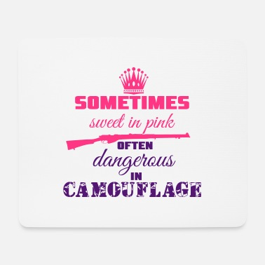 Camoflage Sweet in Pink - Mouse Pad
