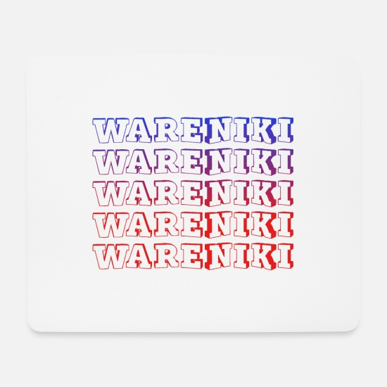 Gift Idea Mouse Pads - Wareniki - Mouse Pad white