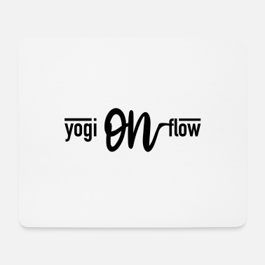 Yogi yogi on flow - Mouse Pad