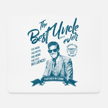 Uncle Best uncle ever. Best family nephew niece shirt! - Mouse Pad