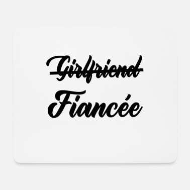 Getting Married Girlfriend fiancee - Mouse Pad