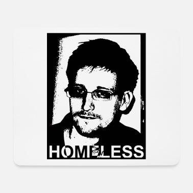 Homeless snowden homeless 03 - Mouse Pad