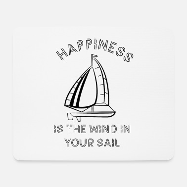 Boat Sailing boat motorboat - Mouse Pad