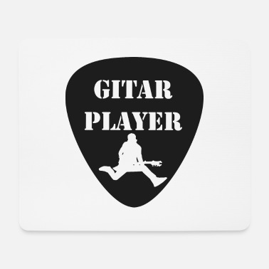 GitarSpringer T-Shirt with action guitarist - Mouse Pad