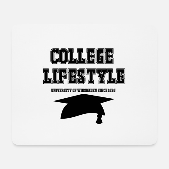 American Football Mouse Pads - College Lifestyle - Mouse Pad white