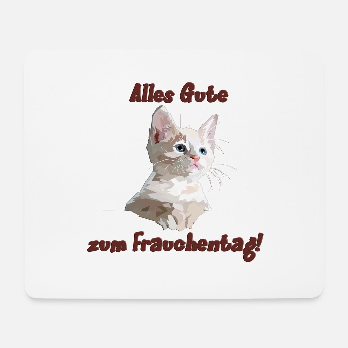Mouse Pad Cat Mousepad Birthday Gift for Sister Birthday Best Friend Office Desk Accessories Gift Cat Lover New Job Gift Desk Decor Fun 9179