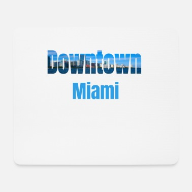 Tourist Downtown Miami, Verenigde Staten, Country Tourist Gifts - Muismatje (landscape)