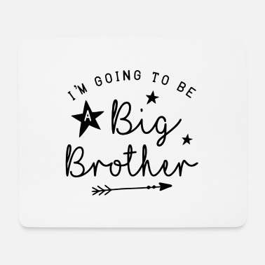 Big I'm Going To Be A Big Brother Geschenk Bruder Schw - Mousepad