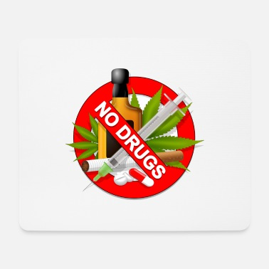 no drugs - Mousepad