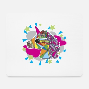 Mythical Collection unicorn in color - Mouse Pad