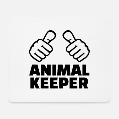 Keeper Animal keeper - Mouse Pad