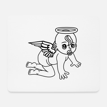 Ángel affectionate angels angel angels angels angels ang - Mouse Pad
