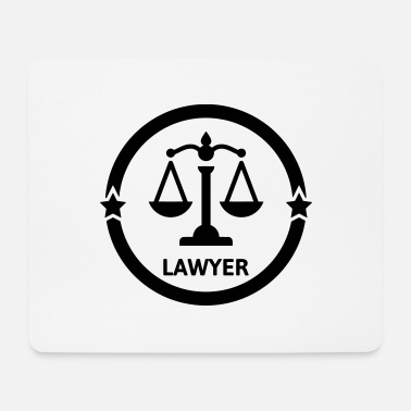 Cool Lawyer Avocat Anwalt Barrister Justice Law - Mouse Pad