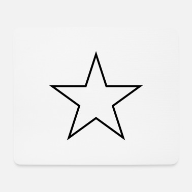 Stella Star outline - Mousepad