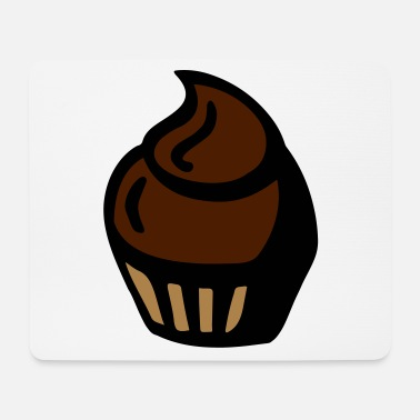 Tarts Chocolate cupcake - chocolate muffin - gift - Mouse Pad