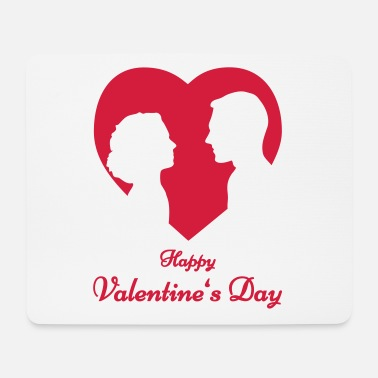 Liebestest Happy Valentines Day - Mousepad