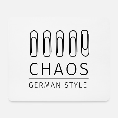 Style Chaos German Style - Mousepad