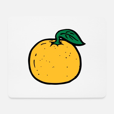 Orange orange - Mouse Pad