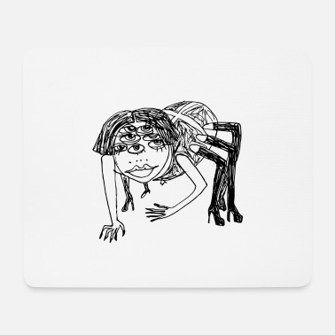 Coctail Sexy Black Widow - Mouse Pad