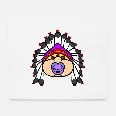 Redskin Indian - Mouse Pad
