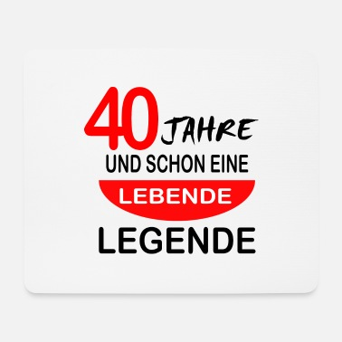 40th Birthday 40th birthday - Mouse Pad