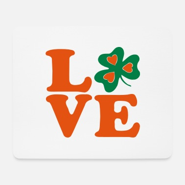 Most Bucket List Languages To Learn People To Meet And Fall In Love Countries To Visit And Travel To ♥ټ☘I Love Irish-Ireland-Happy St Patty's Day☘ټ♥ - Mouse Pad