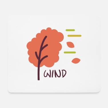 Wind Wind - Mousepad