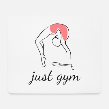 Just Just gym - Tappetino per mouse (orizzontale)