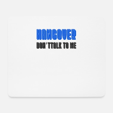 Suff Hangover drunk club party suff promille - Mouse Pad