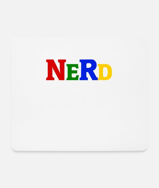 Maths Mouse Pads - Nerd - Mouse Pad white