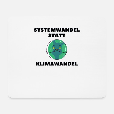 Eco Climate change earth co2 sea environment eco gift - Mouse Pad