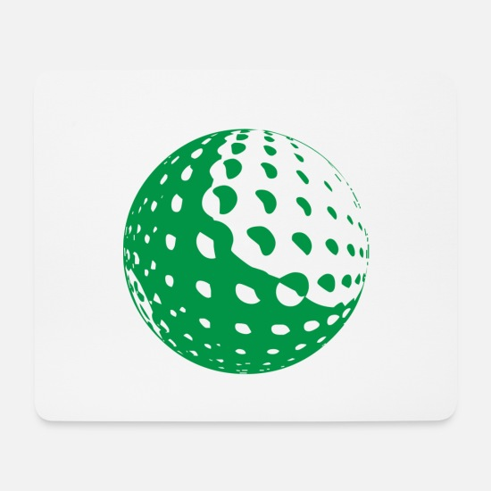 Golf Mouse Pads - golf - Mouse Pad white