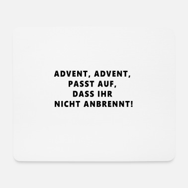 Advent Advent - Mousepad