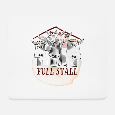 Stall Full Stall - Mousepad